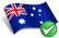 Australian flag SpinSamba Casino