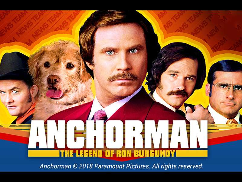Anchorman The Legend Of Ron Burgundy Slots
