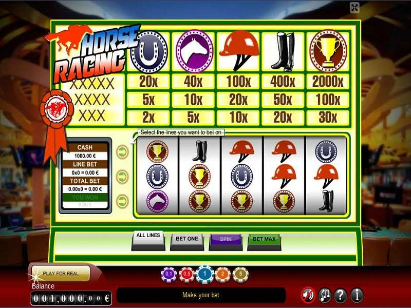 Horse Racing Slot by GameScale