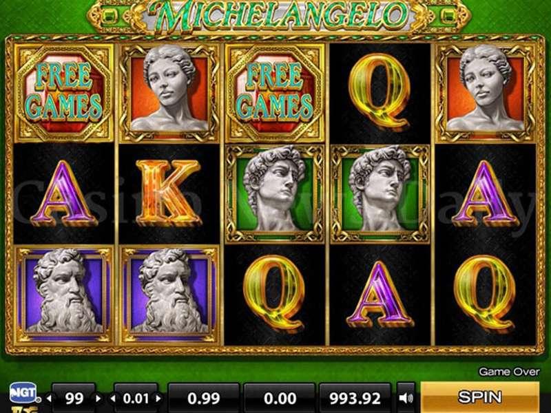 Michelangelo Video Poker