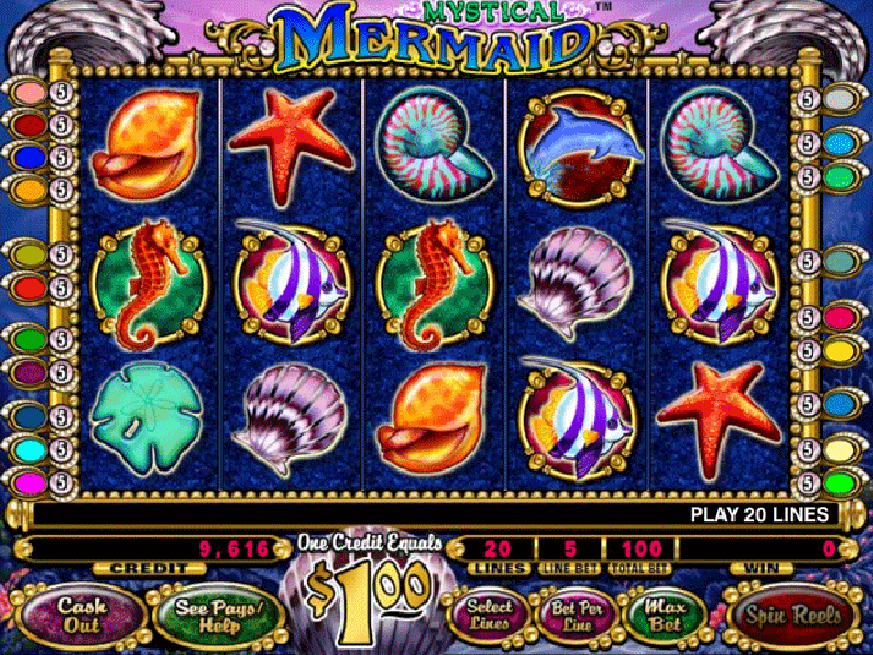 Mystical Mermaid Slots