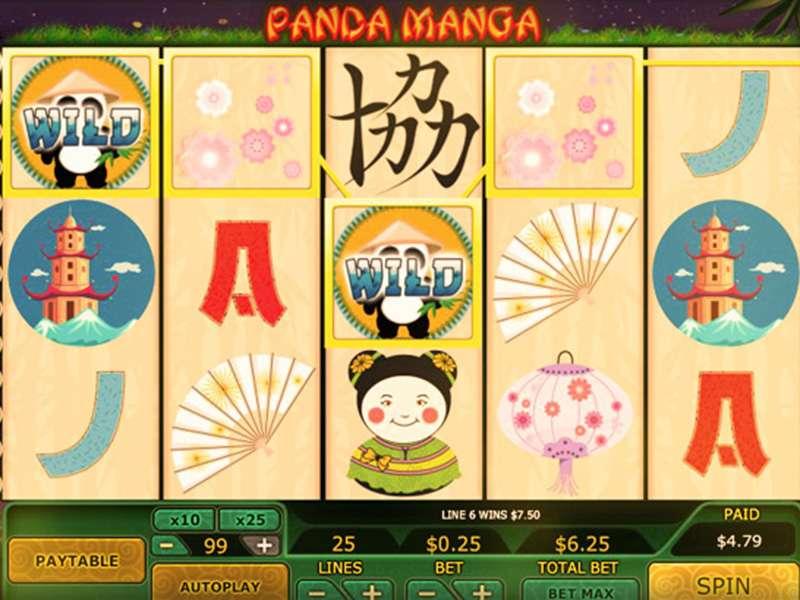 Panda Manga Slot