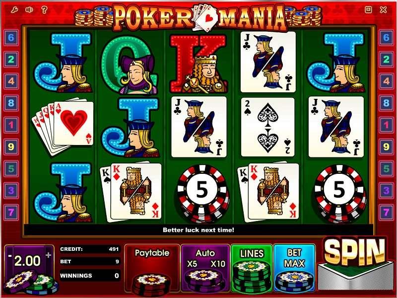 Poker Mania Slots