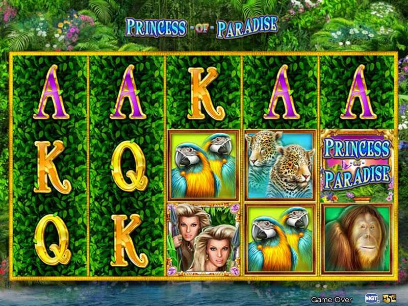 Princess of Paradise Slot