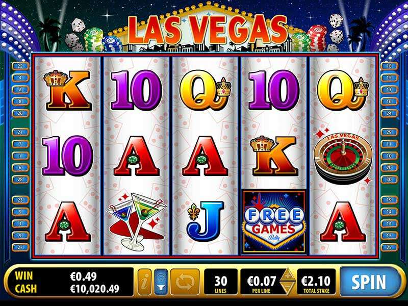Quick Hit Las Vegas Slot
