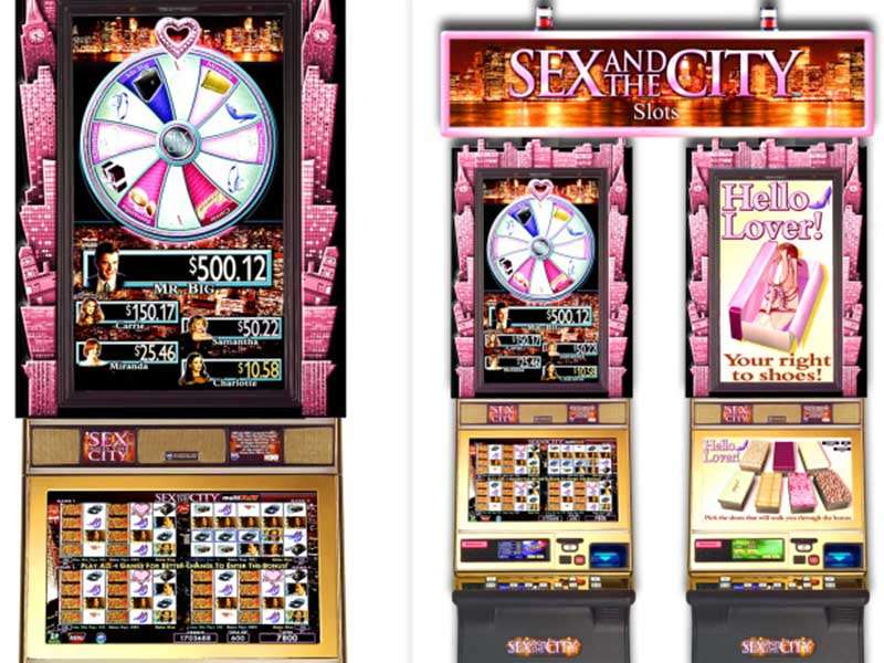 Sex and the city slot machine online