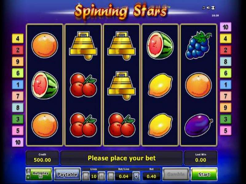 Spinning Stars Classic Fruit Machine