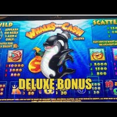 Whales of Cash Deluxe Slots