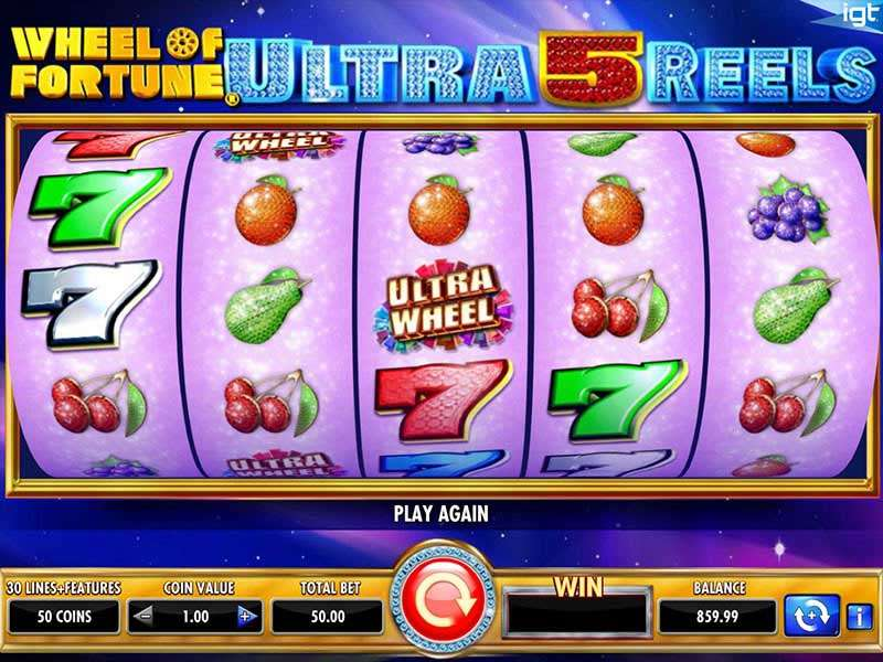 Wheel Of Fortune Ultra 5 Reels Slots