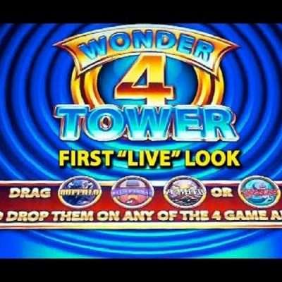 Wonder 4 Slots Machine
