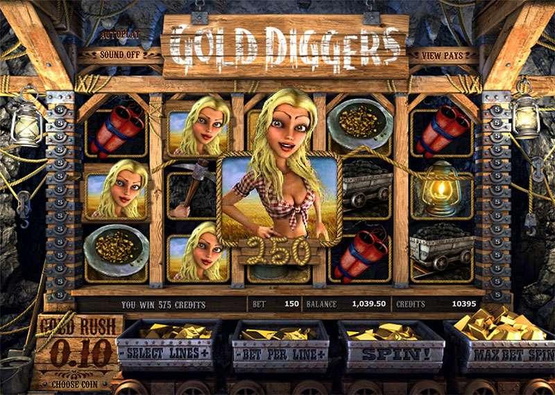 Gold Diggers Slots