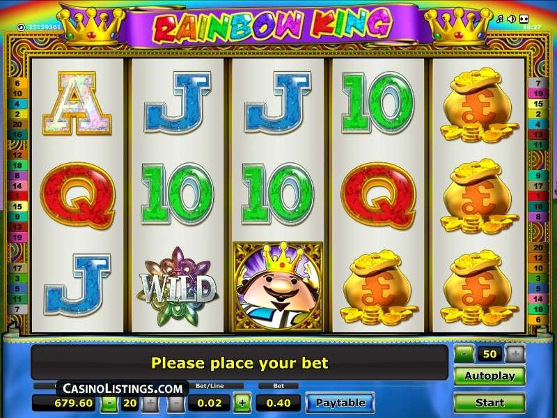 Rainbow King Slot